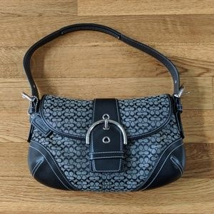 Coach Soho Jacquard hobo bag
